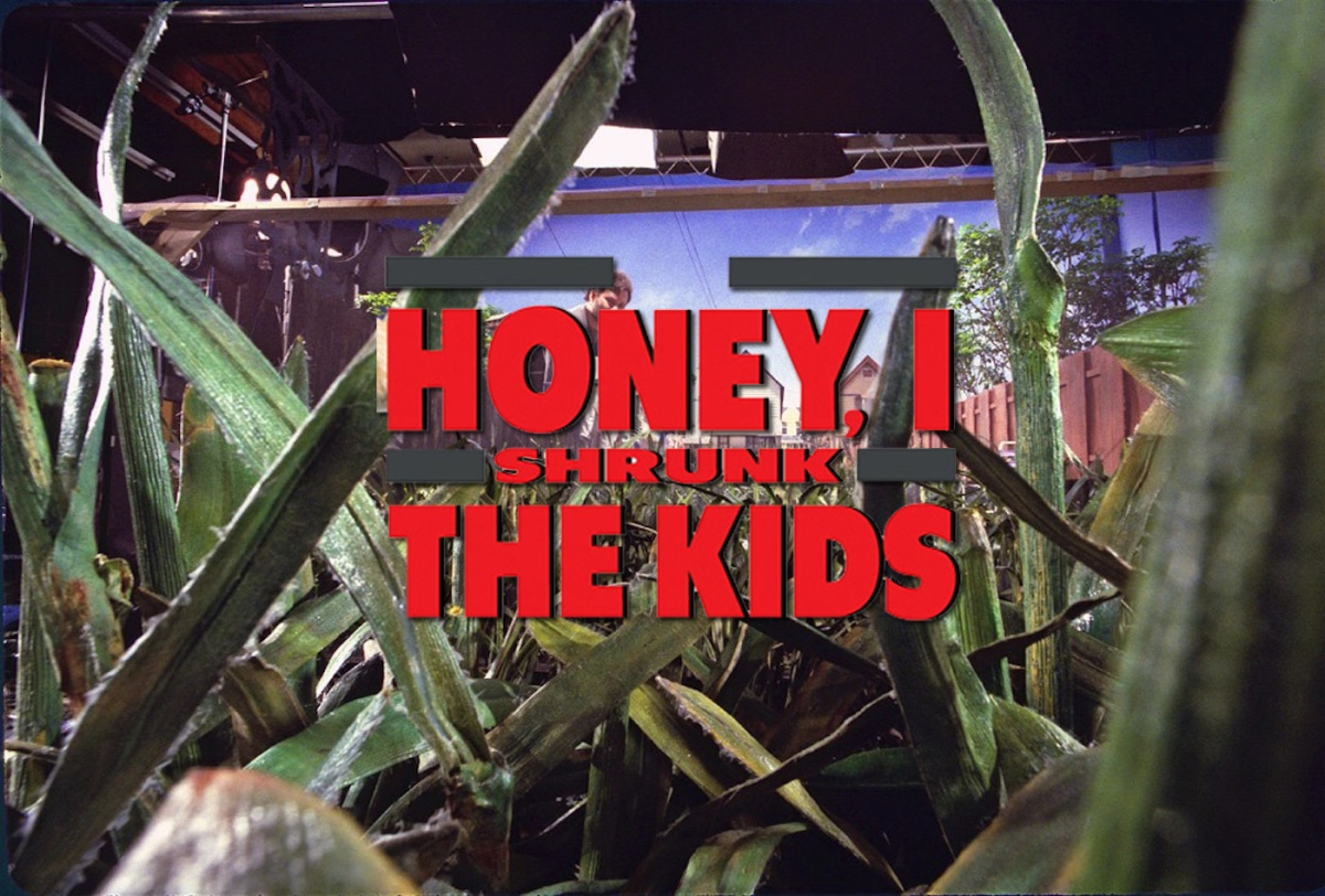 14 Behind-The-Scenes Photos From Honey, I Shrunk The Kids (1989)