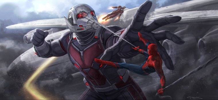 spidermancivilwarart